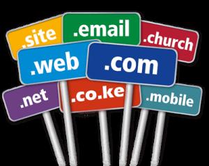 What is a KE domain name?
